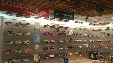 Fotografia negozio baldini fun runners